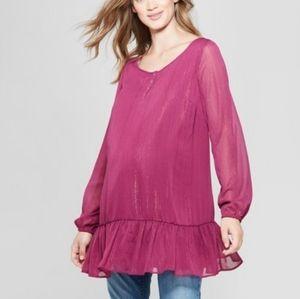 NWT Isabel Maternity Tunic Size S